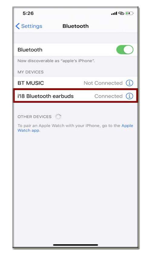 i18 Wireless Bluetooth Earbuds