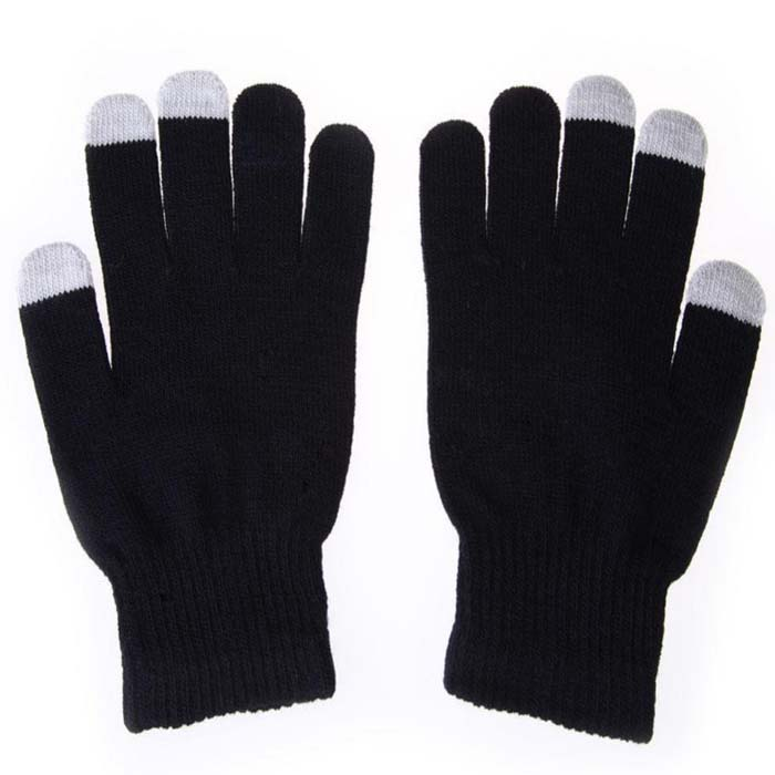 Knitting Touch Screen Gloves