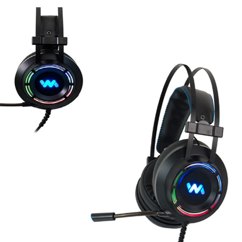 rgb gaming headset with microphone