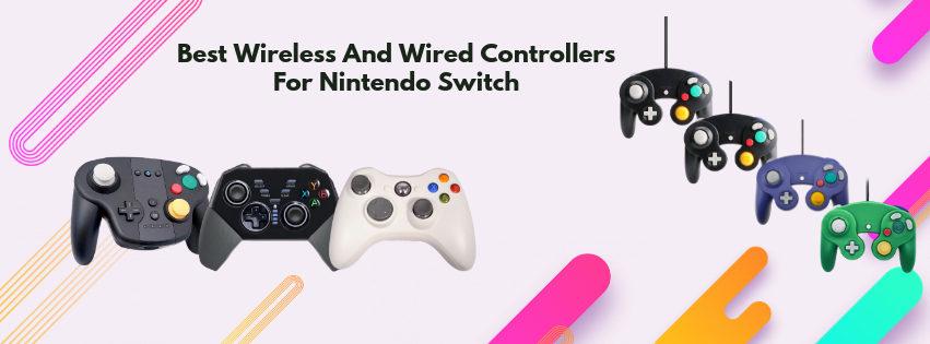 nintendo switch wireless and wired controllers