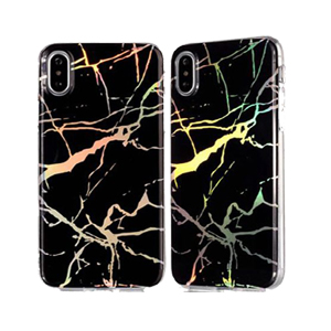 Black Lightning TPU Solid Cover Case