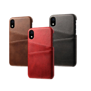 PU Leather Wallet Phone Case with Card Holder