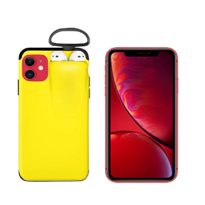 2 in 1 AirPods Protective Phone Cover Case