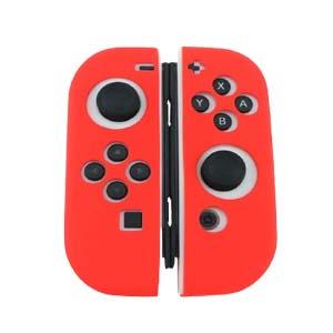 Joycon Anti Slip Soft Case Silicone Rubber Skin Cover for Nintendo Switch