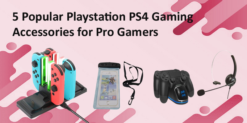 PS4 gaming accessories