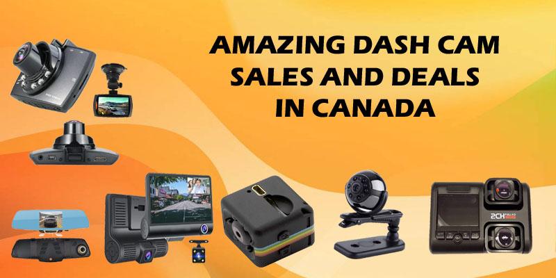 Dash Cam Sales and Deals in Canada