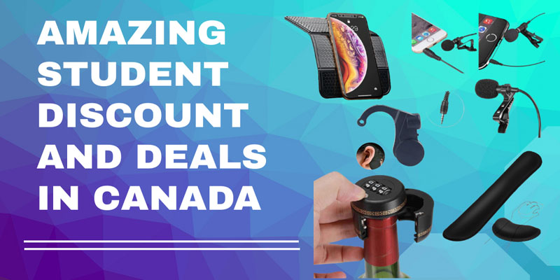 student deals and discount in Canada