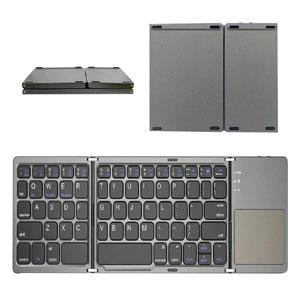 Mini Folding Bluetooth Pocket Keyboard + Touchpad