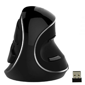 2. LED Ergonomic Vertical Mice Wireless Mouse