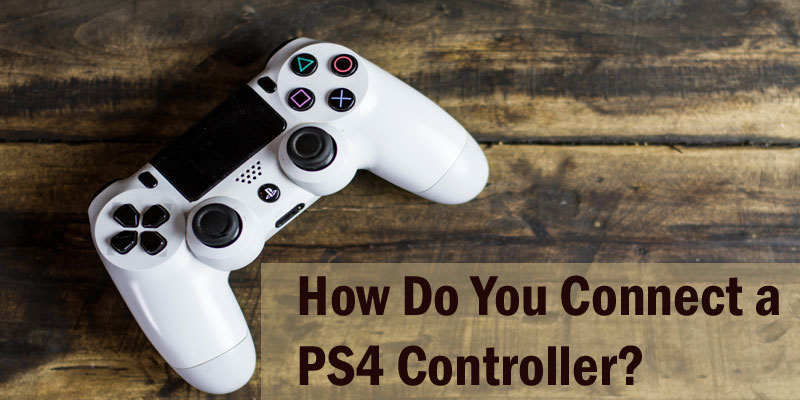 Connect a ps4 controller