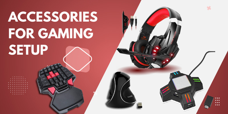 Accessories for gaming setup