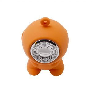 Mini Waterproof Bluetooth Speaker Gadget Speaker Bluetooth Suitable for Gifts and Toys - Orange