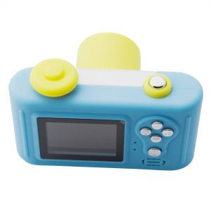 Beautiful Appearance Cute Design Kids Favorite Digital Camera - Blue