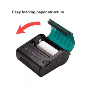 Bluetooth Mini Android Sticker 80mm Receipt Mobile Thermal Printer with Sdk