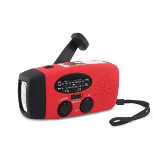 Dynamo Solar Hand Crank Emergency Radio & Flashlight