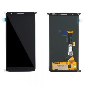 Replacement LCD Display Touch Screen Digitizer Assembly Compatible With Google Pixel 3a - Black