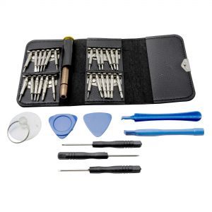 33 in 1 Multi Function Precision Screwdriver Wallet Set Repair Tool for Android and iPhone Devices