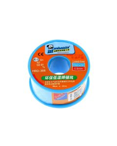 Mechanic Lead Free Low Temperature Solder Wire HBD-366 0.8MM 100G