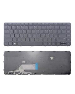 Replacement US Keyboard With Frame Compatible With HP ProBook 430 G3 430 G4 440 G3 440 G4