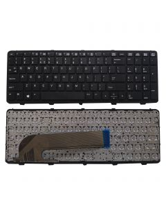 Replacement US English Keyboard 727682-001 90.4ZA07.L01 Compatible With HP Probook 450 G0 450 G1 450 G2 455 G1 455 G2