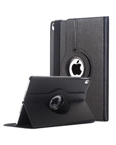 """Smart 360 Rotating PU Leather Cover Case Compatible with Apple iPad Pro 9.7""""(2016) - Black"""