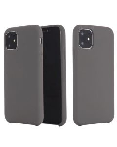 Liquid Gel Silicone Rubber Protective Case Cover For Apple iPhone 11 6.1'' - Grey