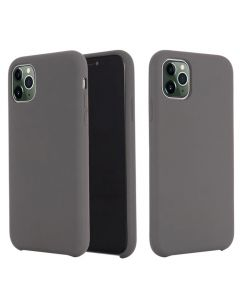 Liquid Gel Silicone Rubber Protective Case Cover For Apple iPhone 11 Pro Max 6.5'' - Grey