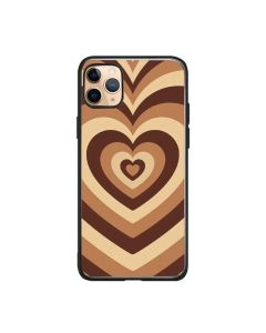 Soft Silicone Stylish Love Coffee Heart Design Back Phone Case Cover For Apple iPhone 11 Pro