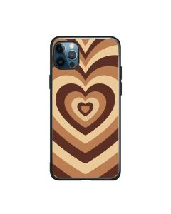 Soft Silicone Stylish Love Coffee Heart Design Back Phone Case Cover For Apple iPhone 12