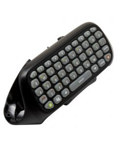 XBOX 360 MESSENGER CHATPAD KEYBOARD  - BLACK