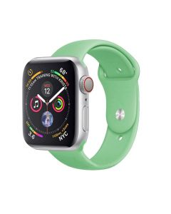 Watch Strap Silicone Sports Band Bracelet S/M Size For Apple iWatch Series 38mm/40mm - Mint Green