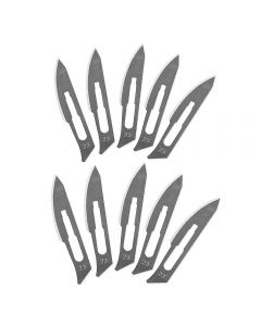 Super-Hard Stainless Steel Surgical Blade Tool #23 Blade Only 10pcs/pack Prying & Cutting Hand Tool