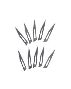 Super-Hard Stainless Steel Surgical Blade Tool #11 Blade Only 10pcs/pack Prying & Cutting Hand Tool