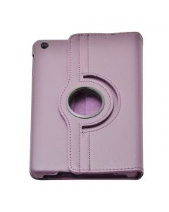 "Purple iPad mini 1/ 2/ 3 360° Rotating Case / With Built In Stand / 7.9"" Ipad Mini Tablet / Rotates & Stands On Two Sides / Pu Leather"