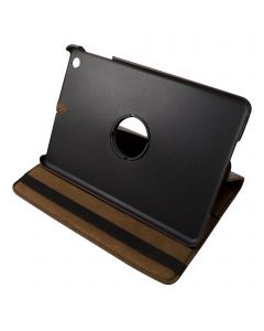 "Dark Brown iPad mini 1/ 2/ 3 360° Rotating Case / With Built In Stand / 7.9"" Ipad Mini Tablet / Rotates & Stands On Two Sides / Pu Leather"