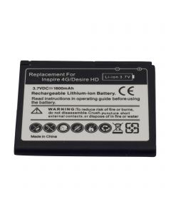 HTC DESIRE HD A9191 / Ace / BD26100 / HTC Inspire 4G T8788 High Capacity Battery