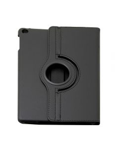 360 Degree Rotating PU Leather Case Smart Cover Stand for Apple iPad Air - Black