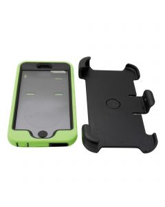 Rugged Shockproof Defender Armor Case with Rotating Belt Clip / Kickstand for iPhone 6 Plus - Green
