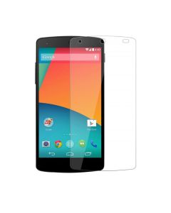 Tempered Glass Screen Protector for the LG Nexus 5 - Clear