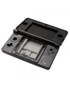 Nintendo 3DS Black Replacement Console Housing Full Shell