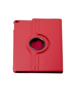 """360 Degree Rotating PU Leather Case Smart Cover Stand For Apple iPad 9.7"""" 5(2017)/6(2018)/iPad Air 2 - Red"""