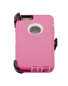 Iphone 6 plus Deluxe Hard Shell Case - Pink