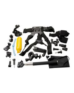Univeral Accessory Kit For Go Pro / Action Camera - Regular Pack