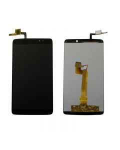 Alcatel One Touch Idol 3 / 6045 LCD Screen +Touch Screen Digitizer Assembly Replacement - Black