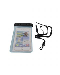 Universal Waterproof Underwater Pouch Dry Bag Case Cover Cell Phone Swimming Bag Fits Most Mobile Phones - Blue