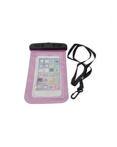 Universal Waterproof Underwater Pouch Dry Bag Case Cover Cell Phone Swimming Bag Fits Most Mobile Phones - Pink