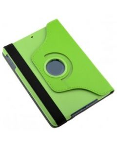 Green iPad mini 1/ 2/ 3 360° Rotating Case / With Built In Stand / 7.9'' iPad Mini Tablet / Rotates & Stands on Two Sides / PU Leather
