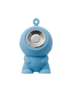 Mini Waterproof Bluetooth Speaker Gadget Speaker Bluetooth Suitable for Gifts and Toys - Blue