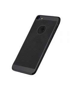 Heat Dissipation Protective Case Back Cover Shell for iPhone 7/8 - Black