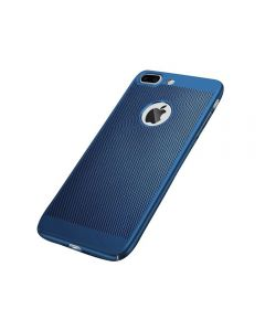 Heat Dissipation Protective Case Back Cover Shell for iPhone 7/8 Plus - Blue